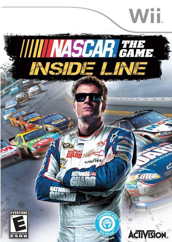 NASCAR The Game Inside Line - Wii