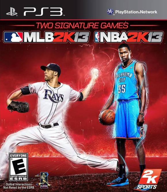 NBA 2K13MLB 2K13 Combo Pack