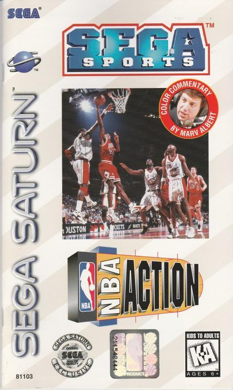 NBA Action - Sega Saturn