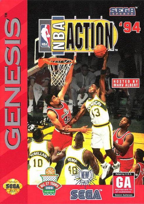 NBA Action 94 - Sega Genesis
