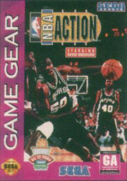 NBA Action starring David Robinson - Sega Game Gear