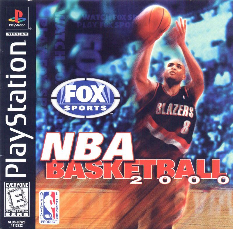 NBA Basketball 2000 - PlayStation 1