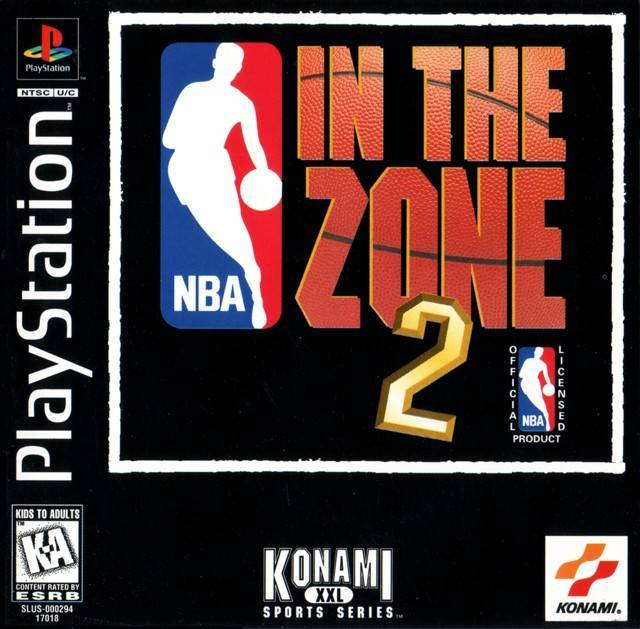 NBA In The Zone 2 - PlayStation 1