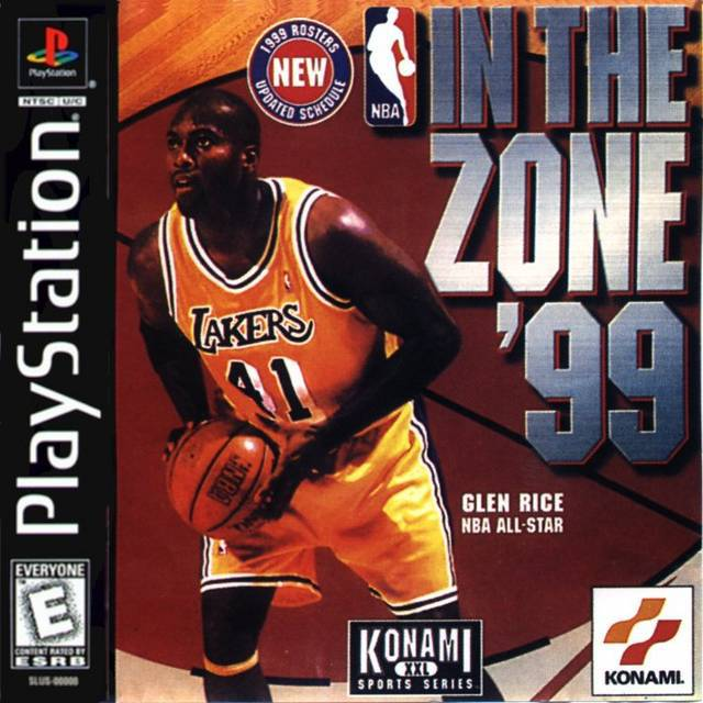 NBA In The Zone 99 - PlayStation 1