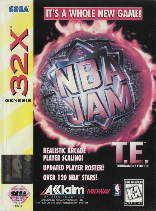 NBA Jam Tournament Edition (32X 1995) - Sega 32X