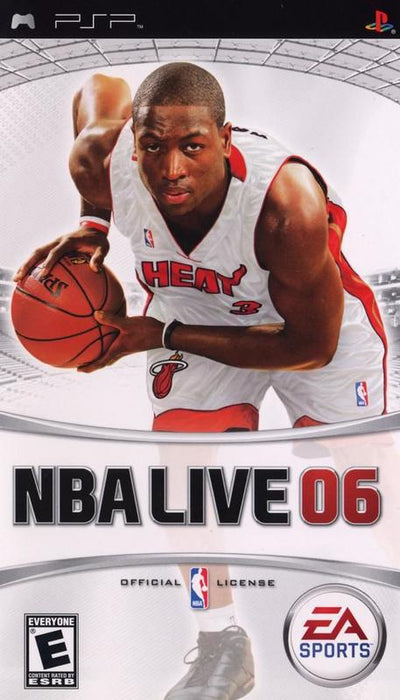 NBA Live 06 - PlayStation Portable