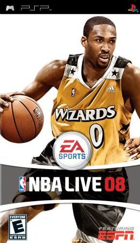 NBA Live 08 - PlayStation Portable