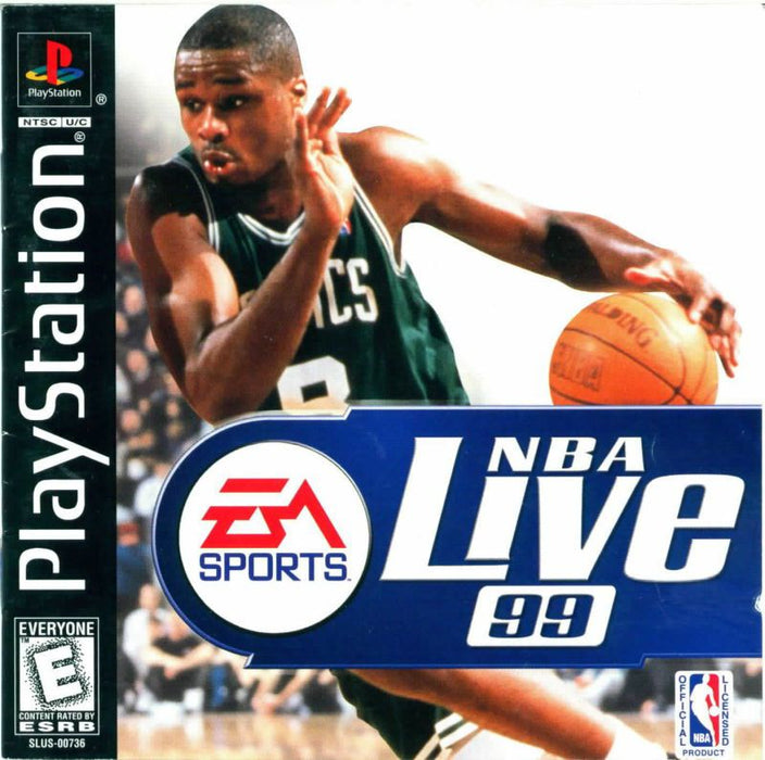 NBA Live 99 - PlayStation 1