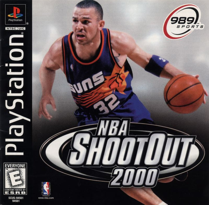 NBA ShootOut 2000 - PlayStation 1