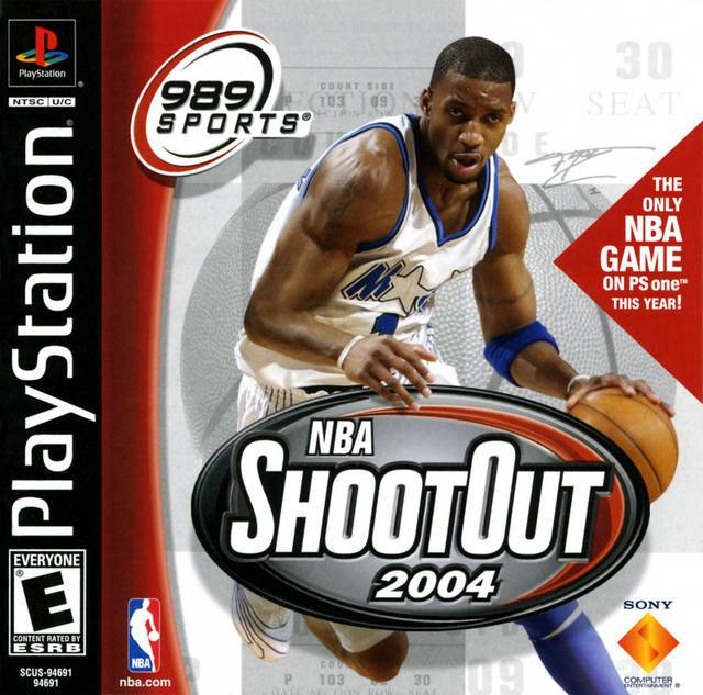 NBA ShootOut 2004 - PlayStation 1