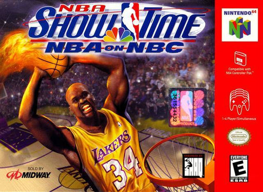NBA Showtime NBA on NBC - Nintendo 64