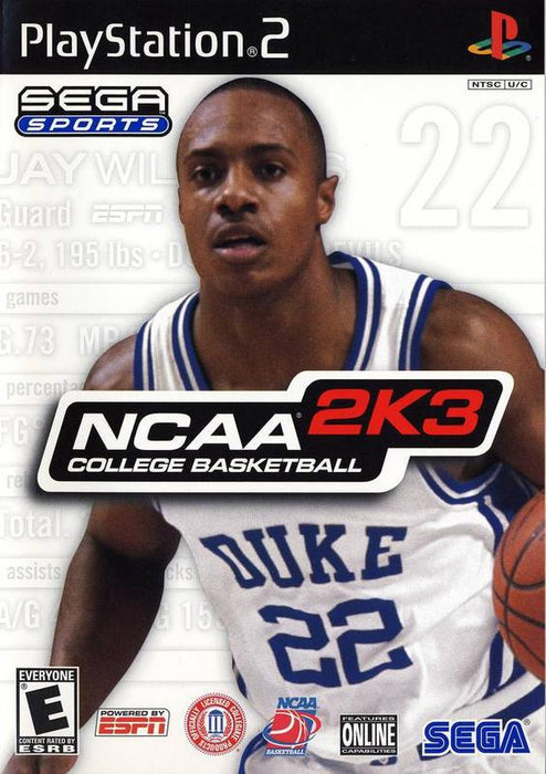 NCAA College Basketball 2K3 - PlayStation 2
