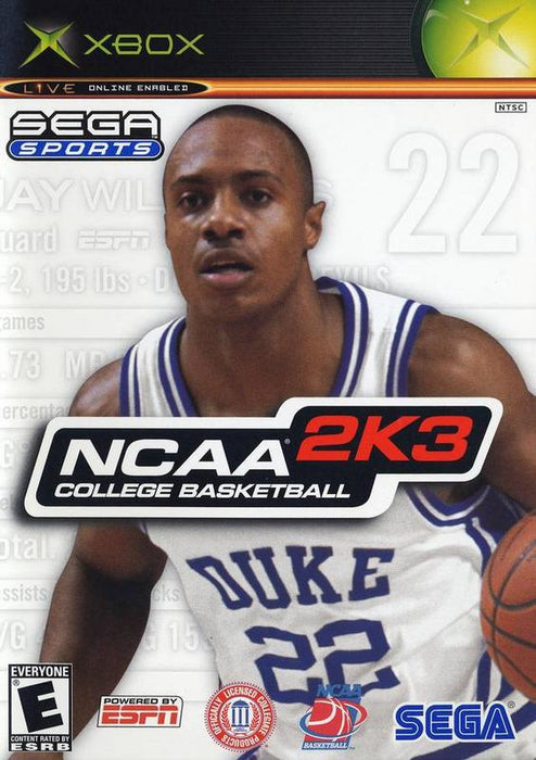 NCAA College Basketball 2K3 - Xbox