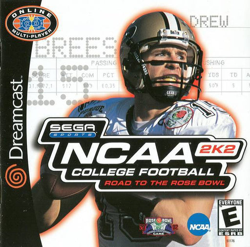 NCAA College Football 2K2 - Sega Dreamcast