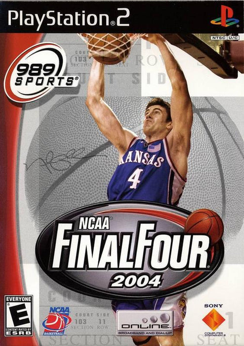 NCAA Final Four 2004 - PlayStation 2