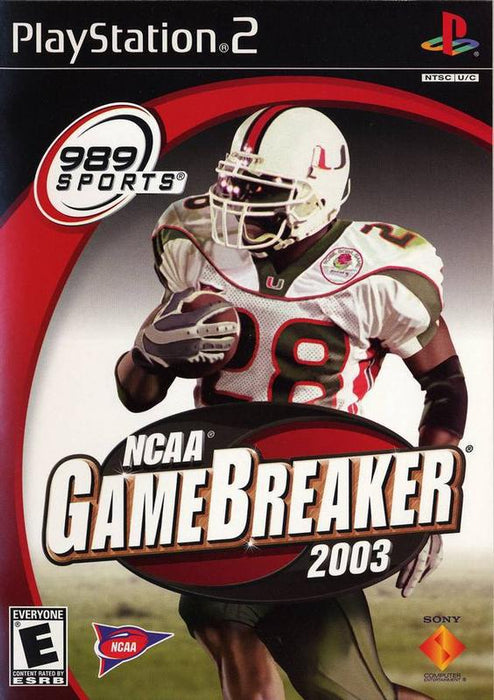 NCAA Gamebreaker 2003 - PlayStation 2