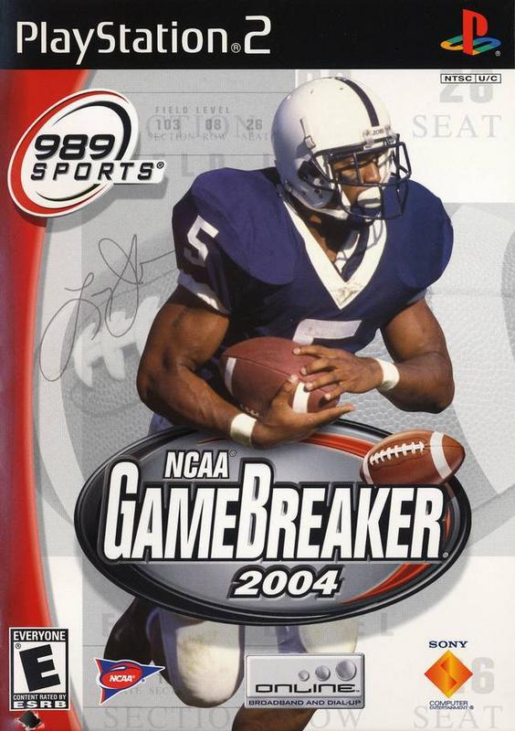 NCAA Gamebreaker 2004 - PlayStation 2
