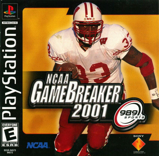 NCAA Gamebreaker 2001 - PlayStation 1