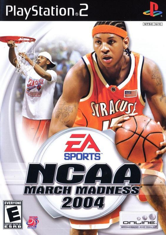NCAA March Madness 2004 - PlayStation 2