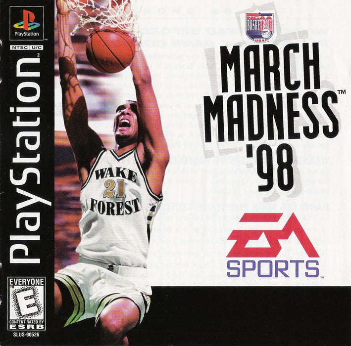 NCAA March Madness 98 - PlayStation 1
