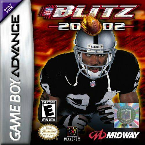 NFL Blitz 20-02 - Game Boy Advance