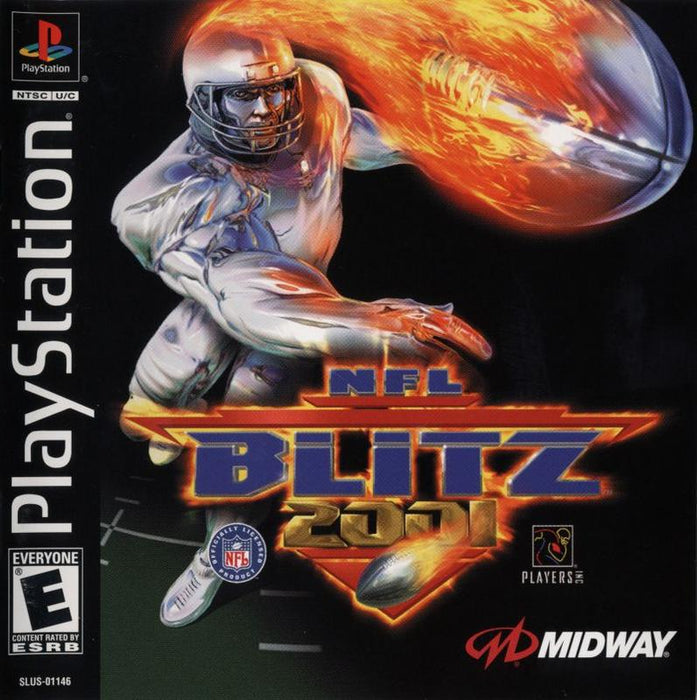 NFL Blitz 2001 - PlayStation 1