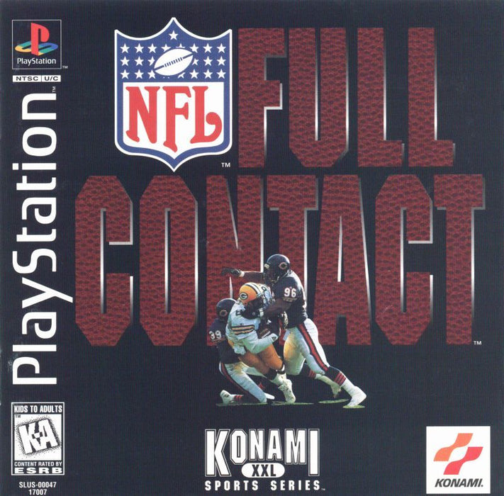 NFL Full Contact - PlayStation 1