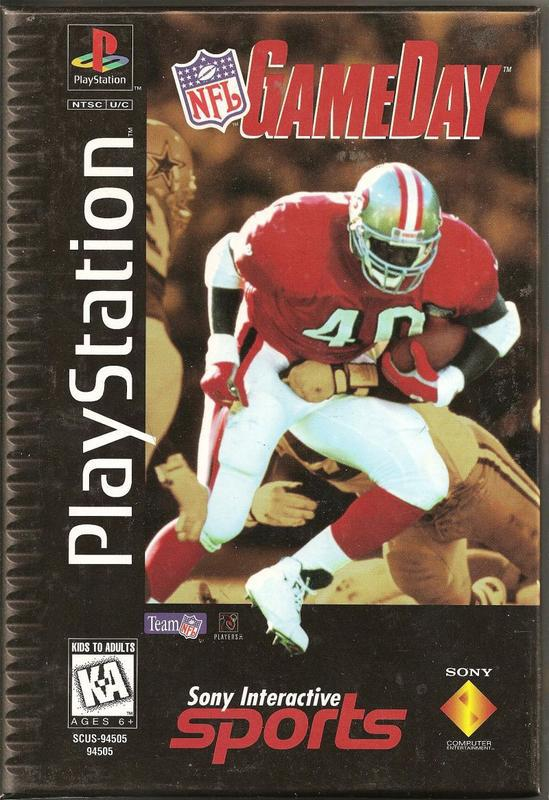NFL GameDay - PlayStation 1