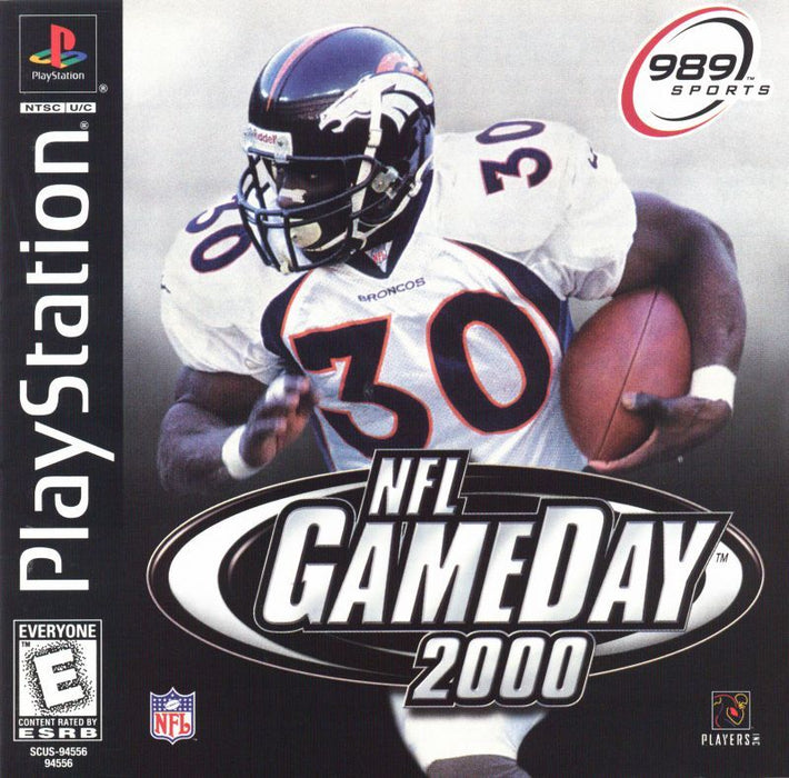 NFL GameDay 2000 - PlayStation 1