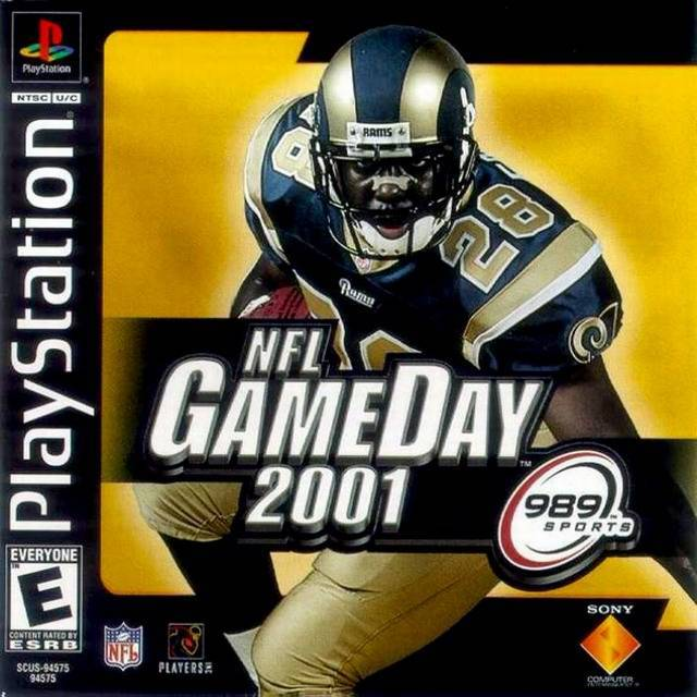 NFL GameDay 2001 - PlayStation 1