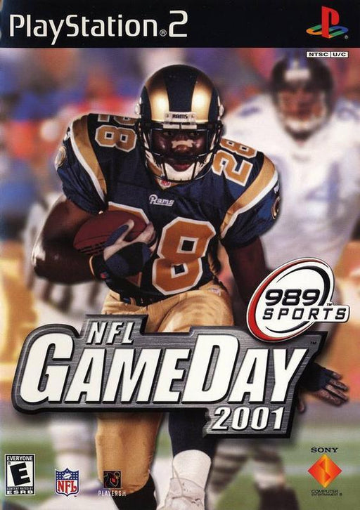 NFL GameDay 2001 - PlayStation 2