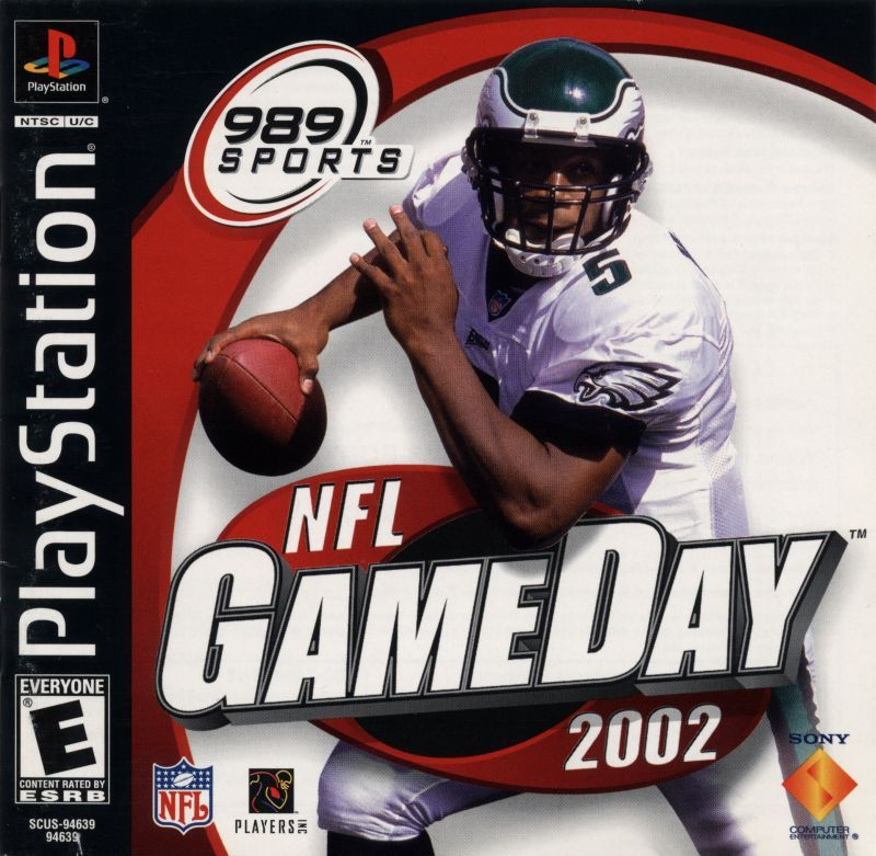 NFL GameDay 2002 - PlayStation 1