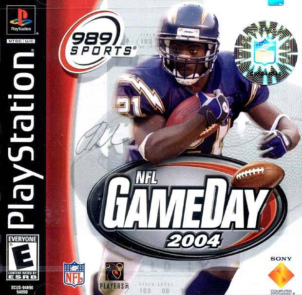 NFL GameDay 2004 - PlayStation 1