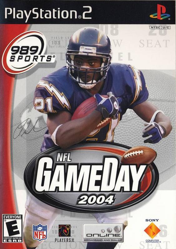 NFL GameDay 2004 - PlayStation 2