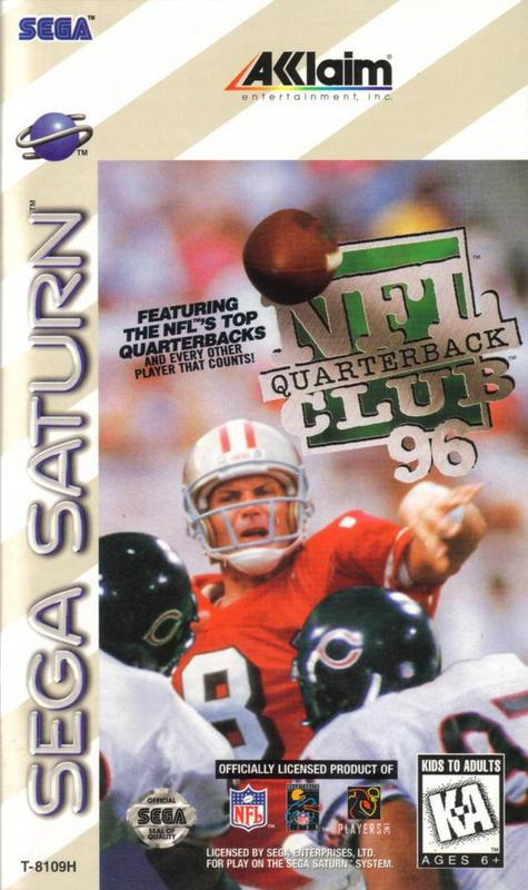 NFL Quarterback Club 96 - Sega Saturn