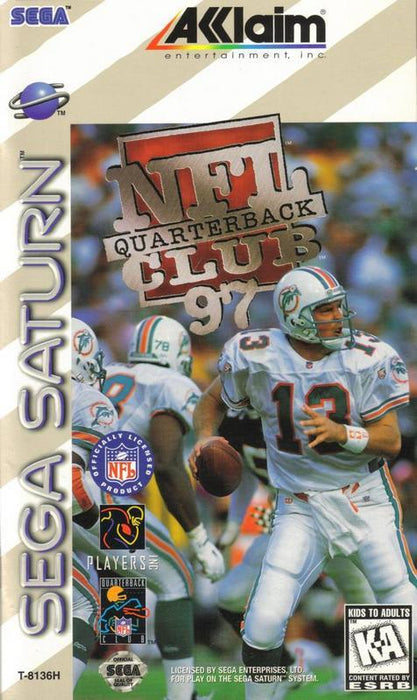 NFL Quarterback Club 97 - Sega Saturn