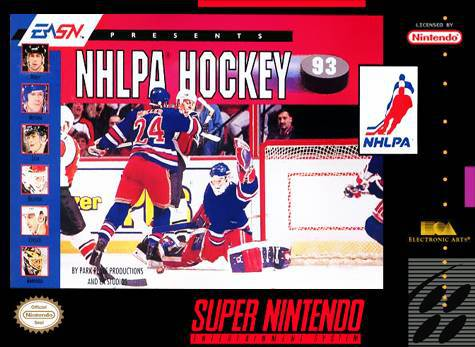 NHLPA Hockey 93 - Super Nintendo Entertainment System