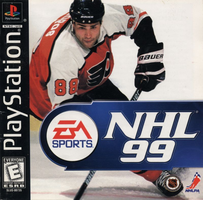 NHL 99 - PlayStation 1