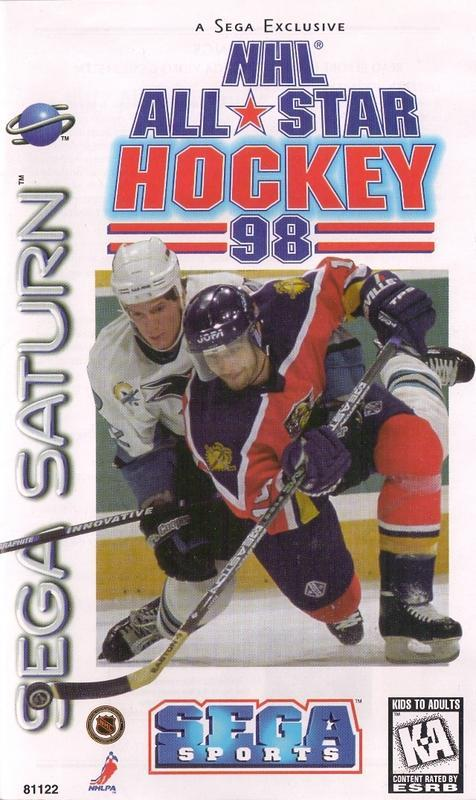 NHL All-Star Hockey 98 - Sega Saturn