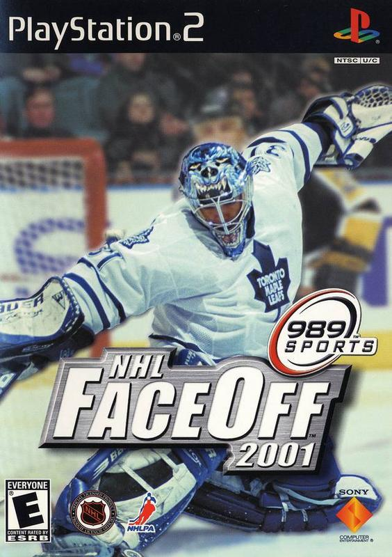 NHL FaceOff 2001 - PlayStation 2