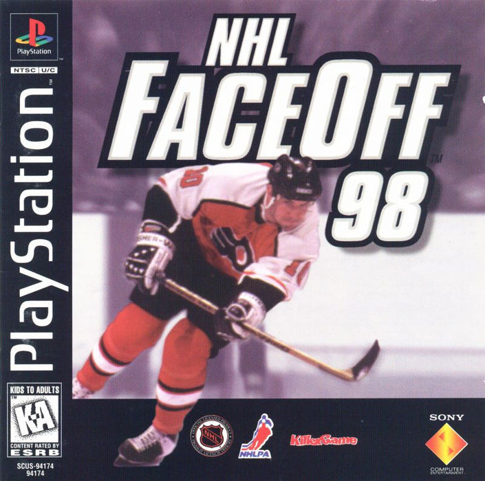 NHL FaceOff 98 - PlayStation 1