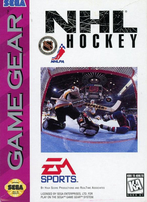 NHL Hockey - Sega Game Gear
