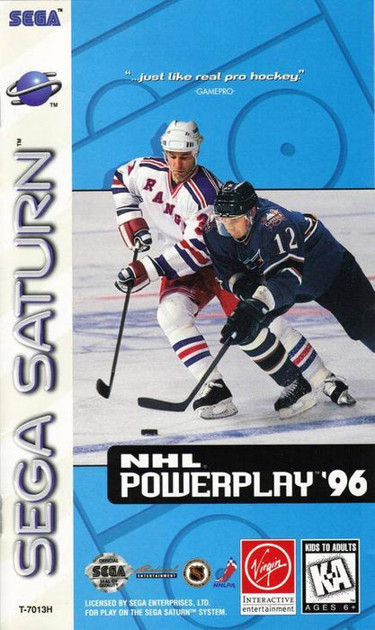 NHL PowerPlay 96 - Sega Saturn