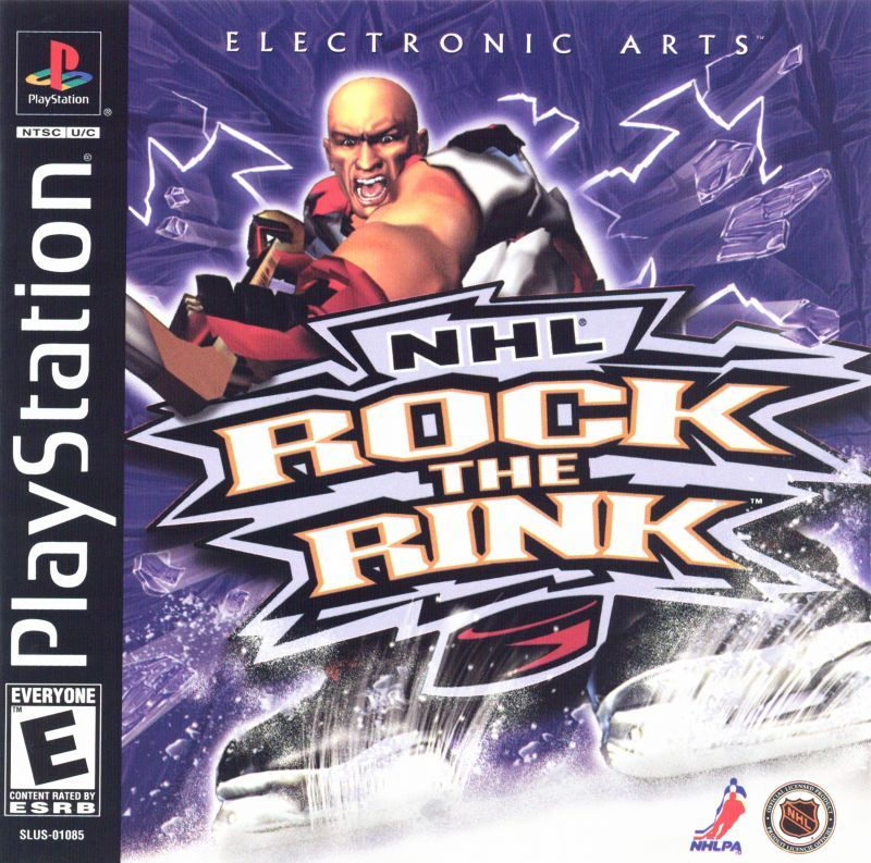 NHL Rock the Rink - PlayStation 1