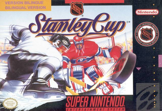 NHL Stanley Cup - Super Nintendo Entertainment System