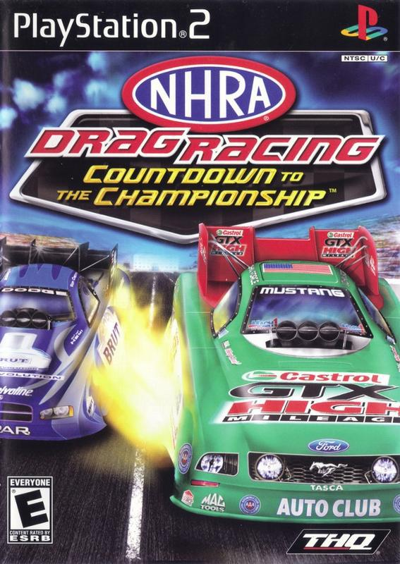NHRA Drag Racing Countdown to the Championship 2007 - PlayStation 2