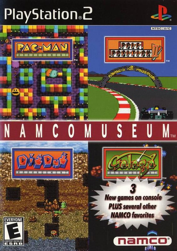 Namco Museum - PlayStation 2