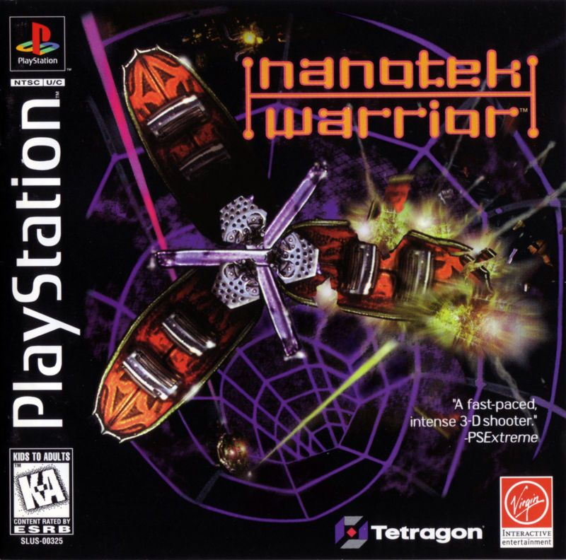 NanoTek Warrior - PlayStation 1