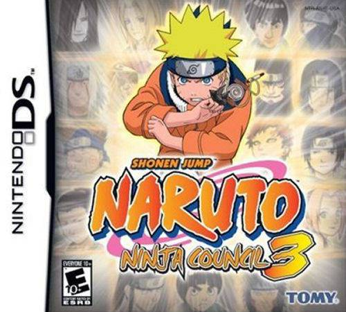 Naruto Ninja Council 3 - Nintendo DS