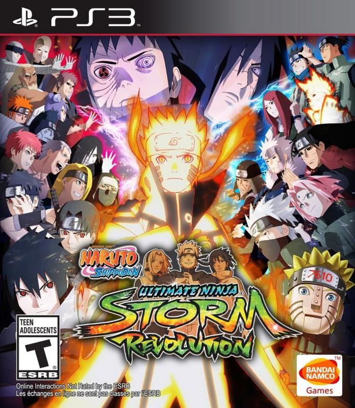 Naruto Shippuden Ultimate Ninja Storm Revolution - PlayStation 3